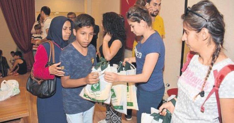 Osmaniye Belediyesi spor malzemesi dağıttı
