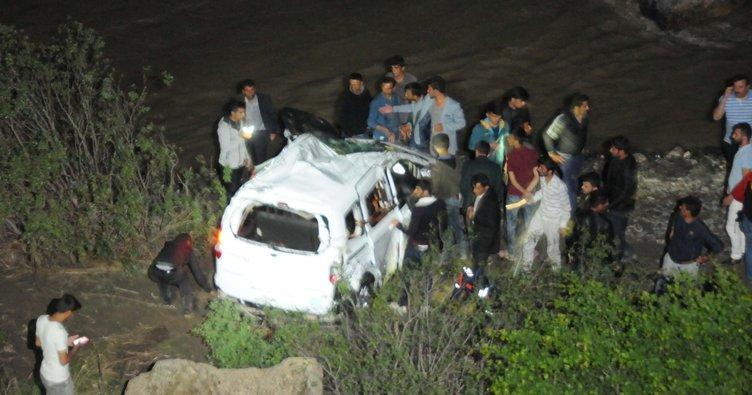 Zap'a uçan araçtaki 4 kişiden 1'i kayıp