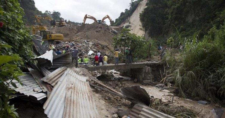 Guatemela'da heyelan: 11 ölü, 9 yaralı!