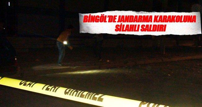 Bingöl'de karakola silahlı saldırı!