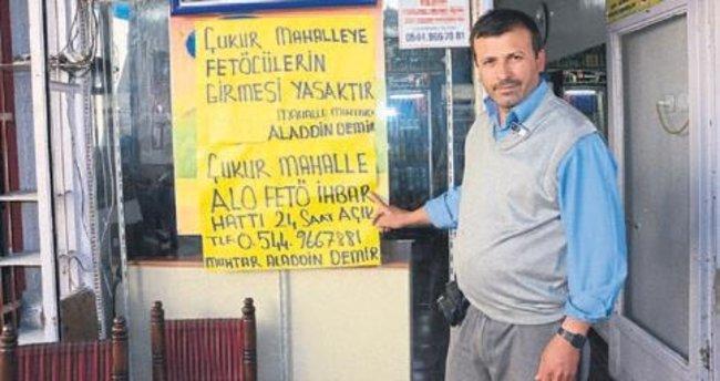'Teröristlere boyun eğmem'