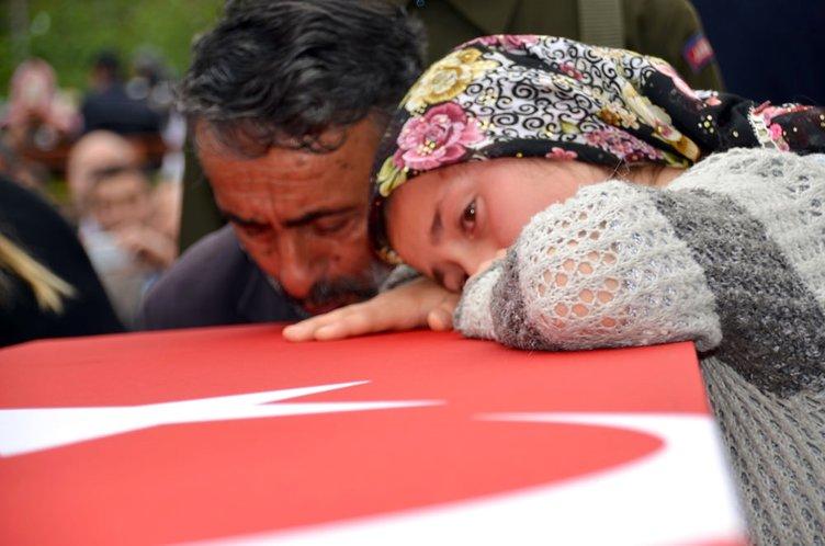 Şehit uzman çavuş Süleyman Kul'u 5 bin kişi uğurladı