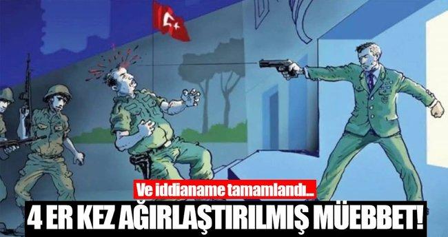 Ömer Halisdemir'i katleden 18 sanığa dava açıldı