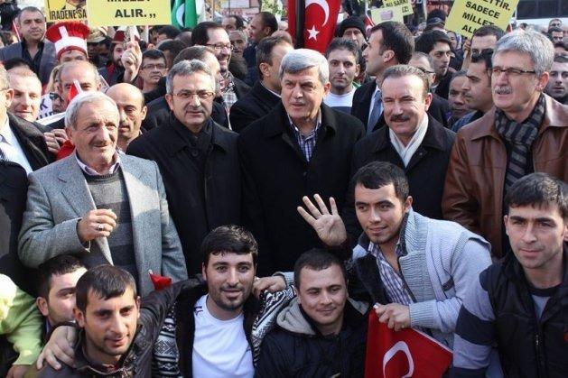 Kocaeli'nde 78 STK'dan AK Parti'ye destek
