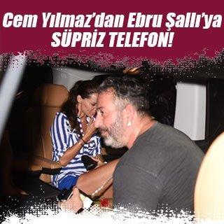 Cem Yılmaz'dan Ebru Şallı'ya sürpriz telefon