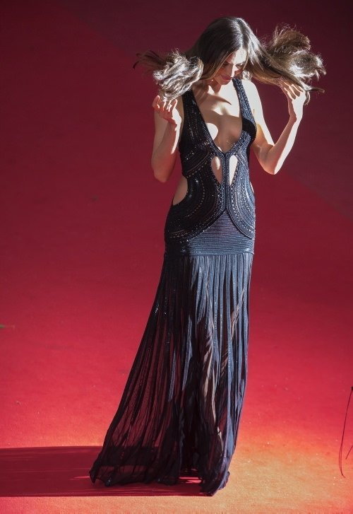 Cannes Film Festivali'nden renkli görüntüler