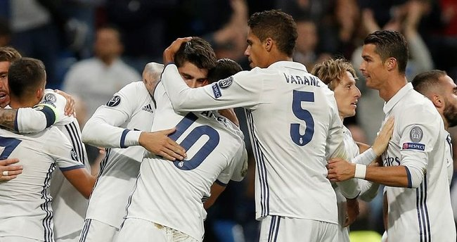 CAS'tan Real Madrid'e iyi haber