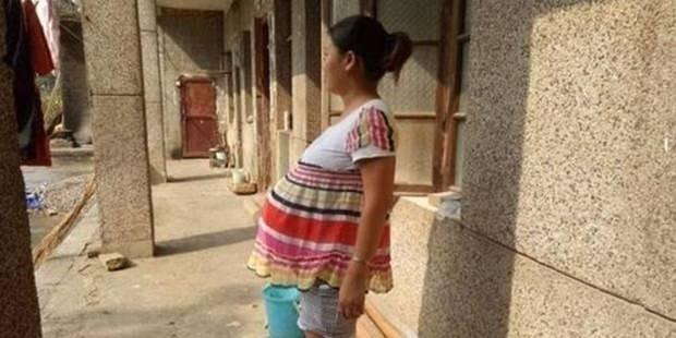 17 aydır hamile doğuramıyor