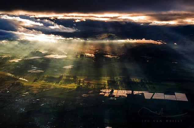 Jumbo jet pilotundan 20 göz kamaştırıcı fotoğraf