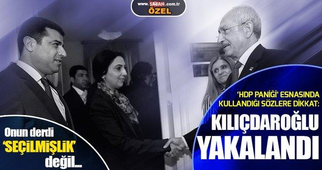Kılıçdaroğlu'nun HDP savunması güldürdü