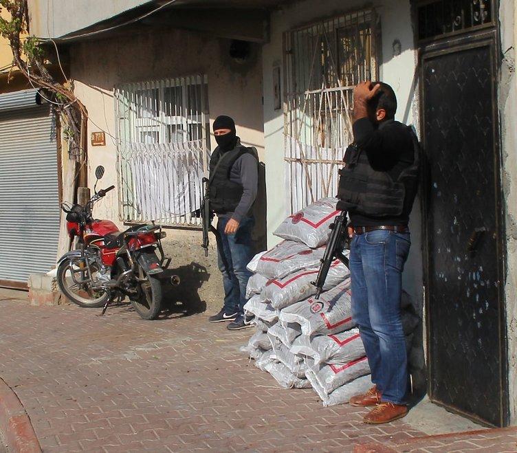 PKK'ya bir milyonluk uyuşturucu darbesi
