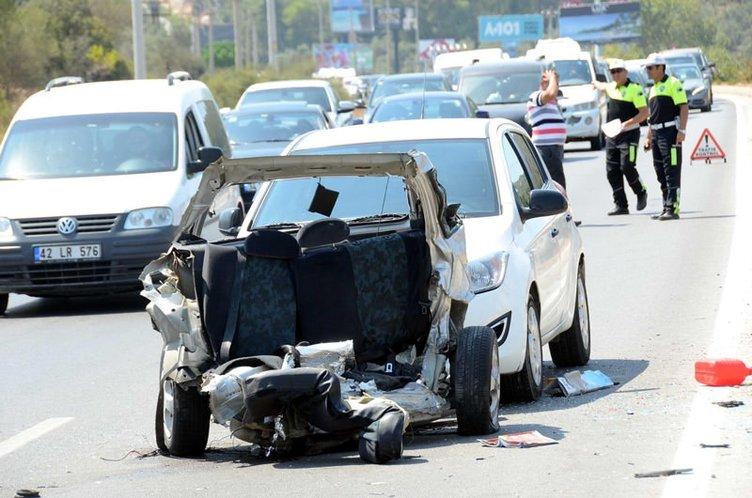 Fatma Alev Tekoğul kazada öldü, kızı ağır yaralandı