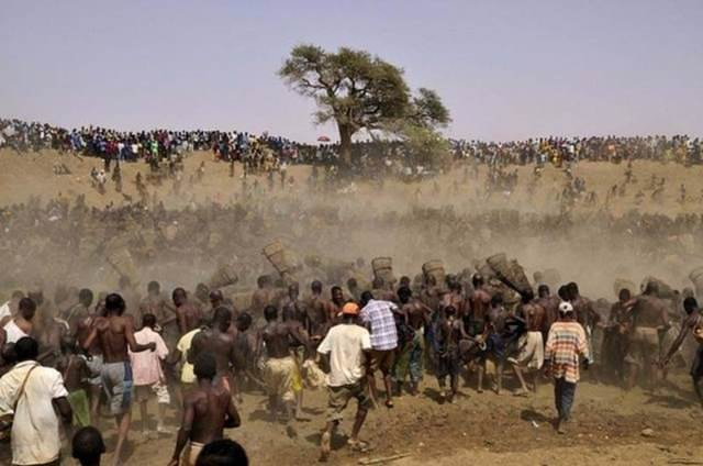 Afrika'da ilginç gelenek