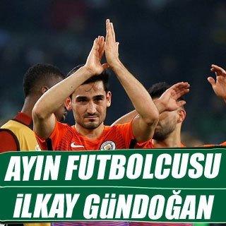 Ayın futbolcusu İlkay Gündoğan