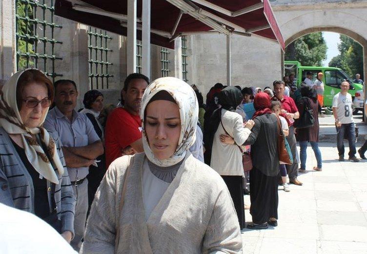 Senarist Ayşe Şasa, son yolculuğuna uğurlandı