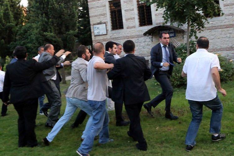 İhsanoğlu'nun katıldığı iftarda silahlar patladı
