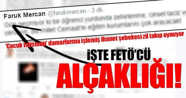 Fetullahçı Faruk Mercan'ın Adana alçaklığı!