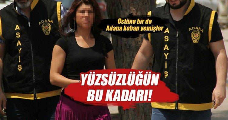 Adana kebabı yiyerek soygunu kutlamışlar