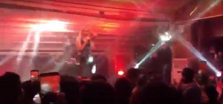 Aleyna Tilki'nin konserinde patlama