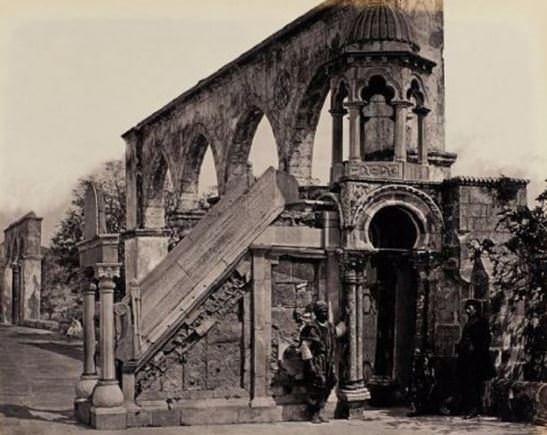 İşte 156 yıl önceki Mescid-i Aksa