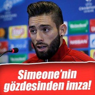 Atletico'dan Carrasco'ya yeni sözleşme