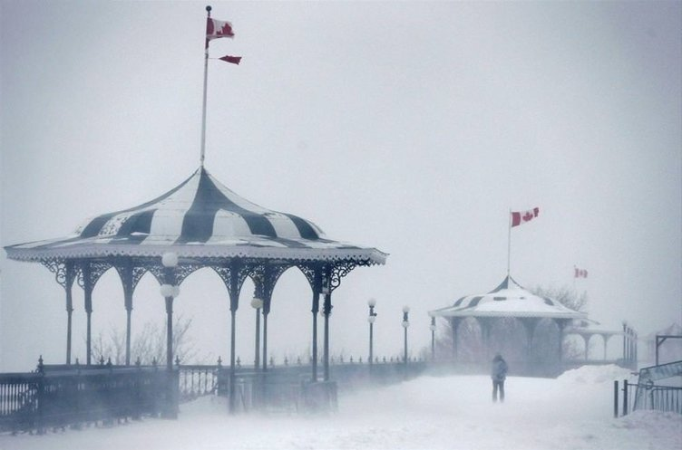 Kanada'da fırtına kabusu