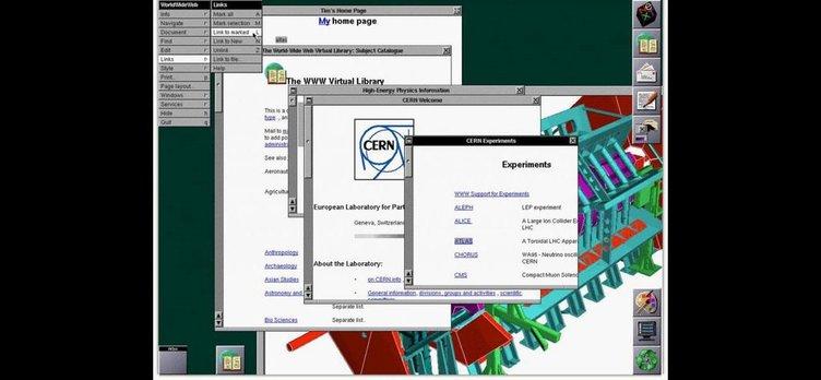 Dünyanın İlk Web Sitesi 25 Yaşında