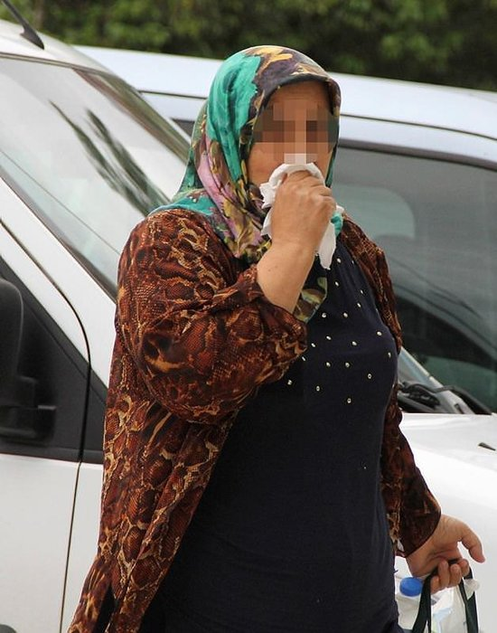 12 yıl hapis cezası olan kadın tesadüfen yakalandı!