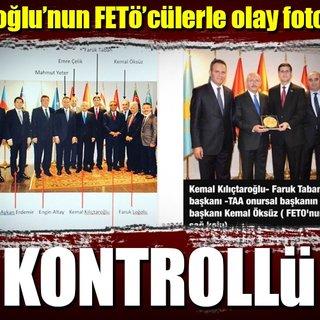 FETÖ imamlarından Kılıçdaroğlu'na plaket