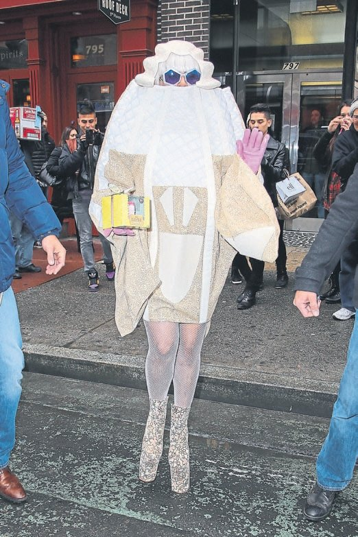Lady Gaga'nın en tuhaf 10 hali
