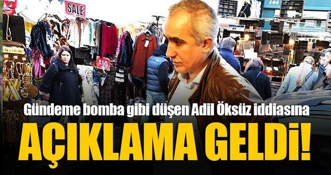 ADİL ÖKSÜZ FOTOĞRAFINA AÇIKLAMA GELDİ!