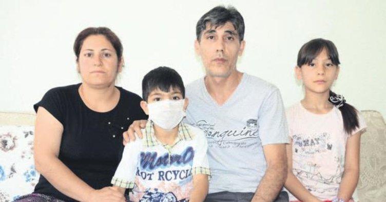 Talasemi hastası Samet ilik bekliyor