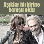 Zerrin Tekindor ile sevgilisi Haluk Bilginer komşu oldu