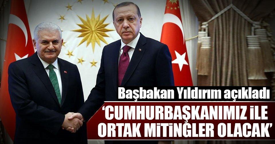 'Cumhurbaşkanımız ile ortak mitingler olacak'