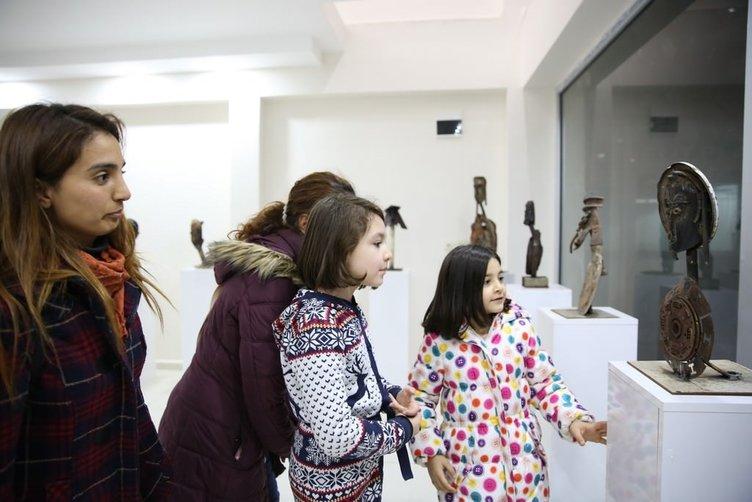 İranlı sanatçıdan metale can veren heykeller