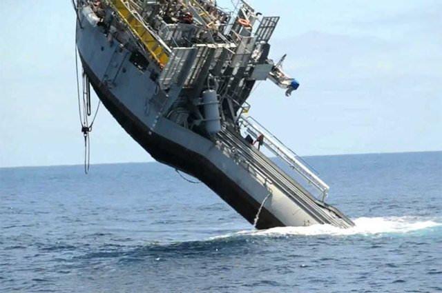 Bu gemi batması için üretildi