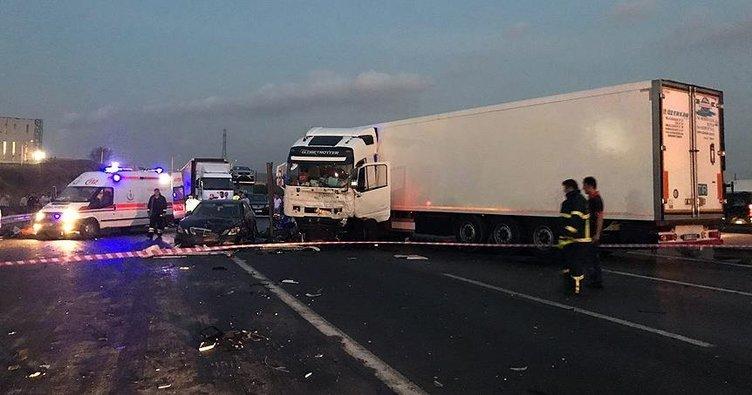 Gebze'de zincirleme kaza: 6 ölü!