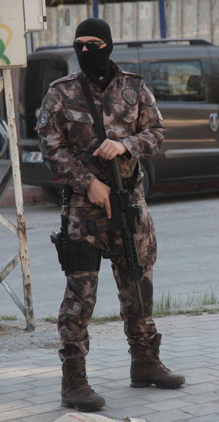 PKK'nın korsan gösteri yaptığı mahallelerde operasyon