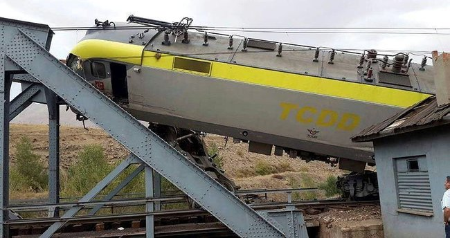 Sivas'ta tren kazası