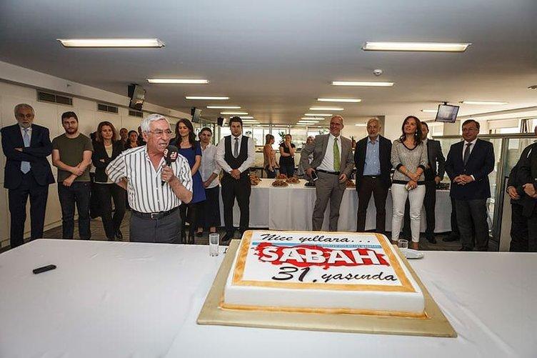Sabah Gazetesi 31. yıl kutlamasından kareler