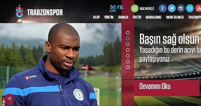 Trabzonspor'dan Kweuke mesajı