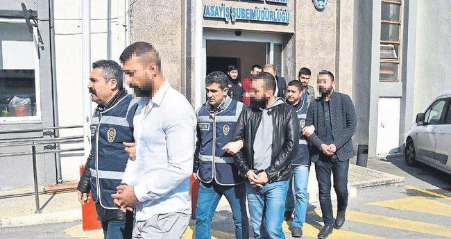 Denizlili suç çetesini İzmir polisi çökertti