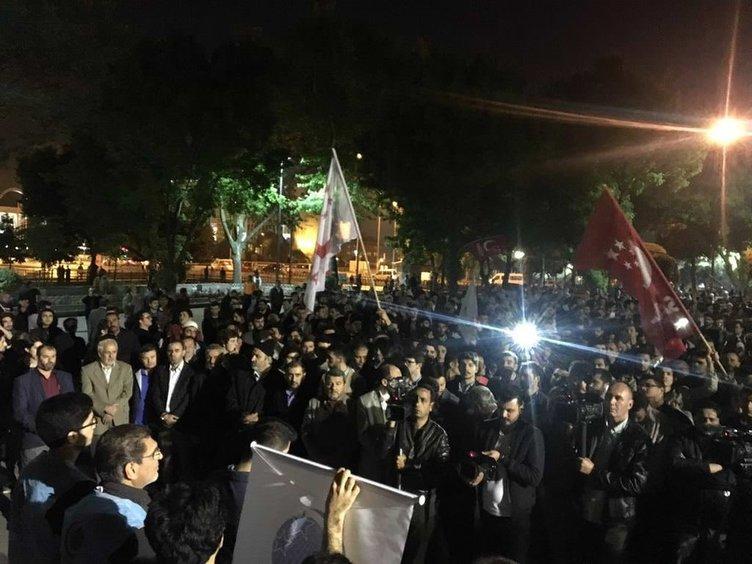 Nizami'nin idamı İstanbul'da protesto edildi