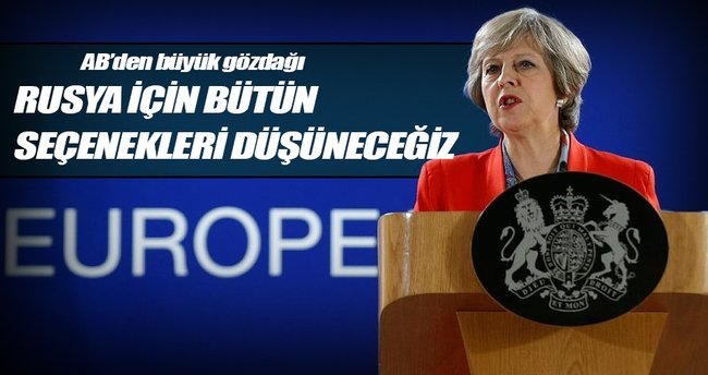 İngiltere Başbakanı'ndan AB açıklaması