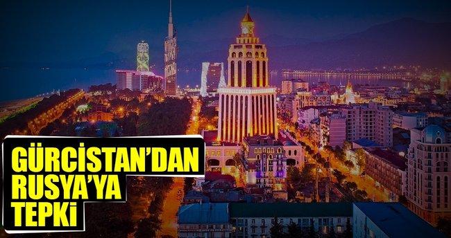 Gürcistan'dan Rusya'ya Abhazya tepkisi