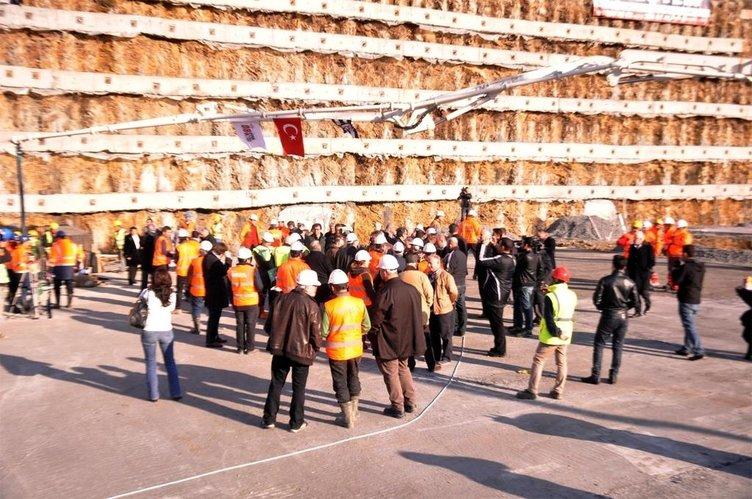 Vodafone Arena'nın inşaat çalışmaları sürüyor