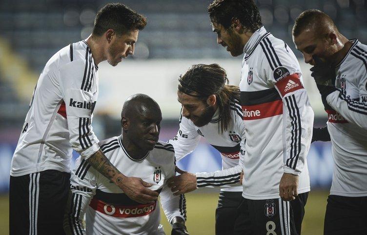Beşiktaş - Balıkesirspor maçının fotoğrafları