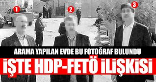 Arama yapılan evden HDP - FETÖ ortaklığının belgesi çıktı!