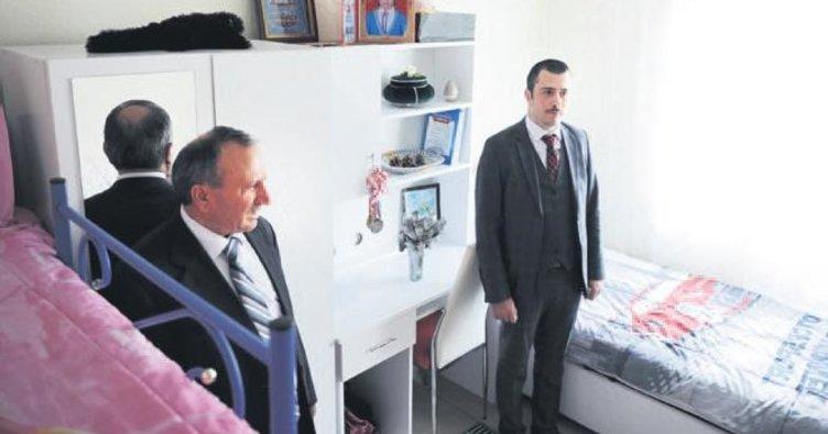 Kırıkkale'de 13 liseli hayalindeki odaya kavuştu
