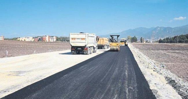 Osmaniye-Toprakkale yolu bulvar haline geldi